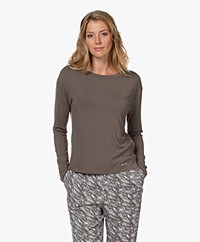 Calvin Klein Modal Longsleeve - Platinum Grey