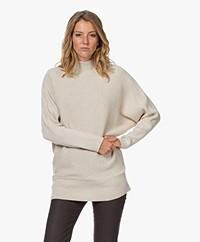 Sibin/Linnebjerg Calais Merino Wool Blend Turtleneck Sweater - Kit