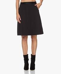 Wolford Artemis A-line Knee-length Skirt - Black