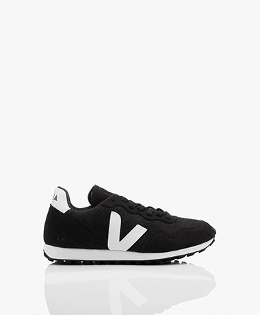VEJA SDU Rec Vegan Flannel Sneakers - Zwart/Wit