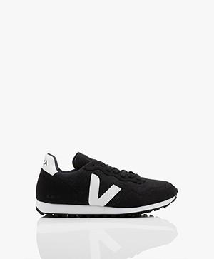 VEJA SDU Rec Flannel Sneakers - Zwart/Wit