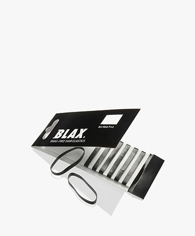 Blax Hair Elastics 4mm - Black