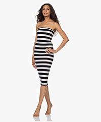 extreme cashmere N°191 Tube Long Dress/Pencil Skirt - Stripe