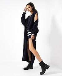 extreme cashmere N°186 Marina Cashmeremix Vest - Navy