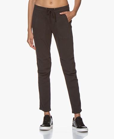 James Perse Soft Drape Utility Pants - Carbon