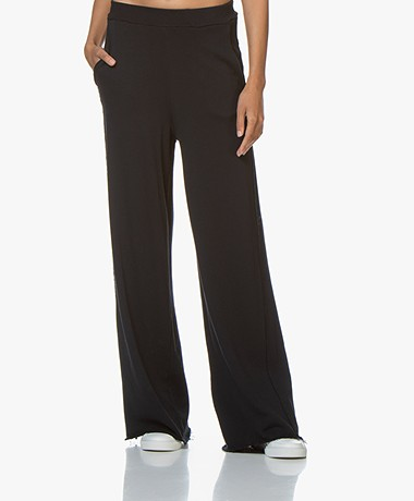 Fine Edge Palazzo French Terry Sweatpants - Independence