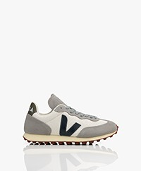 VEJA Rio Branco Hexamesh Suède Sneakers - Grey/White/Nautico