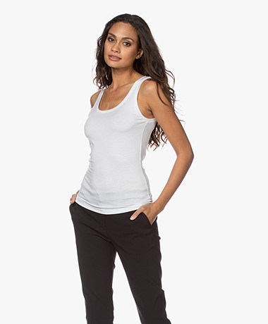 Organic Basics Tencel Jersey Tank Top - White