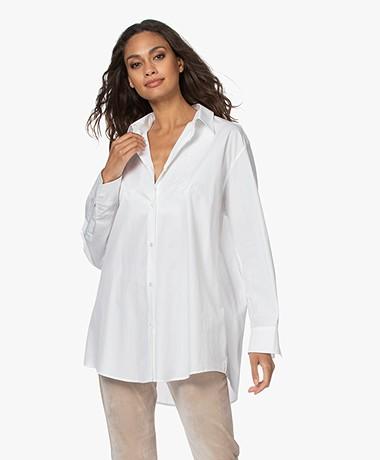 IRO Kanok Oversized Poplin Shirt - White