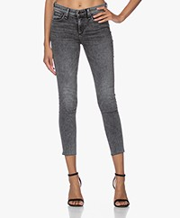 Rag & Bone Dre Low-Rise Ankle Skinny - Blacksage