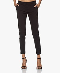 Woman by Earn Sue Stretch Viscose Pants - Black