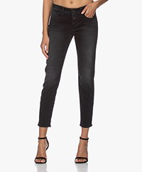 Closed Baker Mid-rise Slim-fit Jeans - Donkergrijs