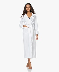 HANRO Robe Selection Ankle-length Hooded Robe - White