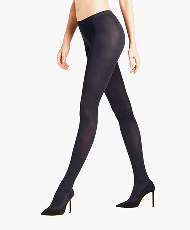 FALKE Sensual Cotton 80 Den Tights - Marine