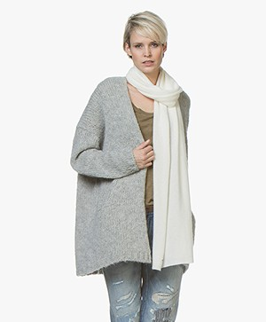 Repeat Cashmere Sjaal - Cream