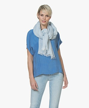 Filippa K Soft Melange Scarf - Cloud