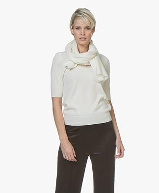 Repeat Cashmere Sjaal - Crème
