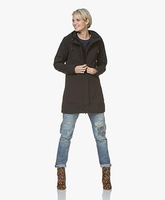 Ilse Jacobsen Softshell Raincoat Rain50 - Black