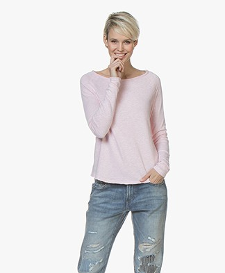 American Vintage Sweater Sonoma - Light Pink Melange