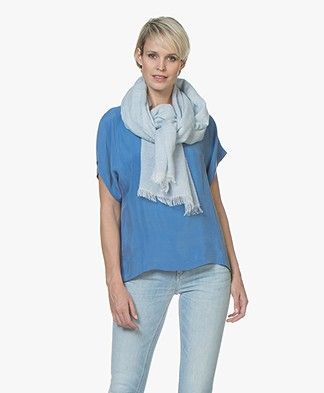 Filippa K Soft Melange Sjaal - Cloud
