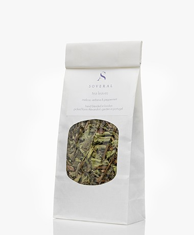 Soveral Organic  Beauty Tea Leaves - Melissa, Verbena and Peppermint