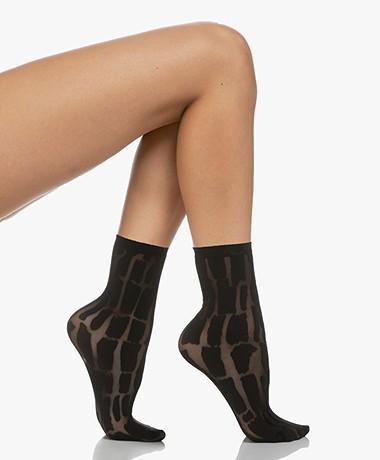Wolford Shield Socks - Black