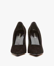 Panara Suede Pumps - Black