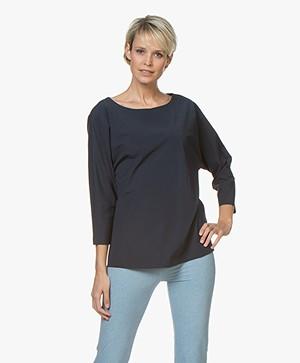 JapanTKY Sif Travel Jersey T-shirt - Navy/Black