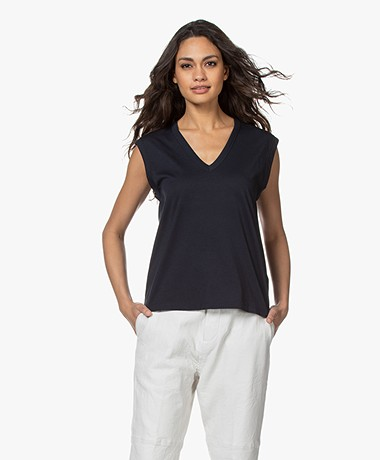 Zadig & Voltaire Adria Happy Night Tank Top - Myrtille
