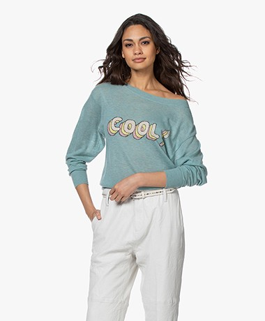 Zadig & Voltaire Axel Cool Cashmere Sweater - Amande