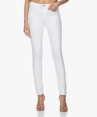 Rag & Bone Cate Mid-Rise Skinny Jeans - Wit
