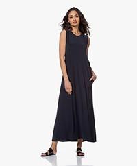 Norma Kamali Swing Sleeveless Maxi Dress - Pewter