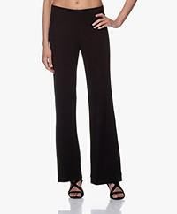 Kyra & Ko Kess Crepe Jersey Pants - Black