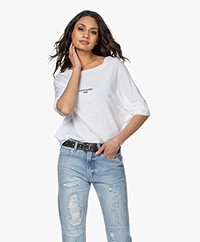 Zadig & Voltaire Alty Zadig 2020 Modal Blend T-shirt - White