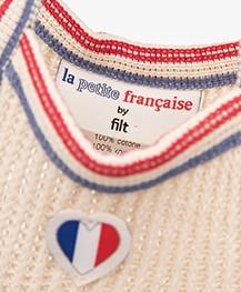 La Petite Française Filet Net Shopper - Ecru