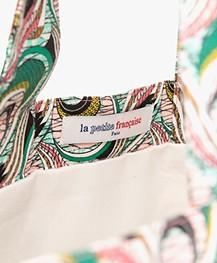 La Petite Française Soizic Print Shopper - Paon