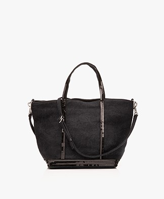 Vanessa Bruno Cabas Shoulder/Hand Bag - Black