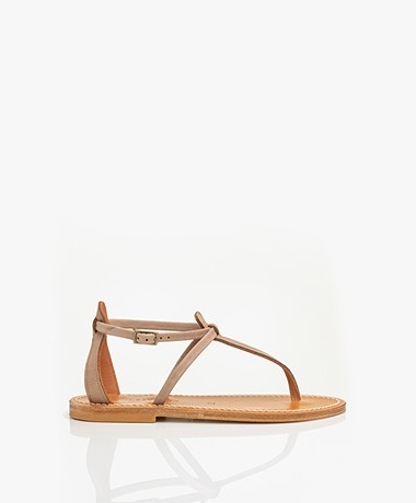 K. Jacques St. Tropez Buffon Nubuck Leather Sandals - Costa