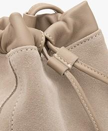 Filippa K Lena Soft Bucket Bag with Draw String - Light Taupe