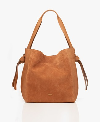 Closed Alyssa Leather Shoulder Bag - Autumn Fields