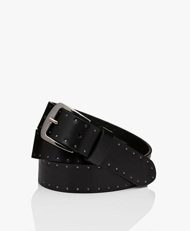 Drykorn Nephele Studs Belt - Black