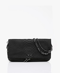Zadig & Voltaire Rock Savage Schoudertas/Clutch - Zwart