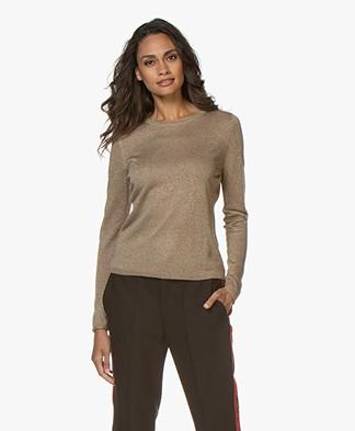 Josephine & Co Goldie Lurex Sweater - Gold