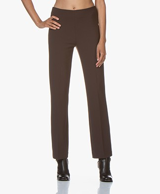 no man's land Pants with Straight Legs - Fondente
