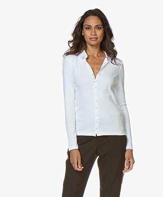Belluna Melbourne Jersey Blouse - White