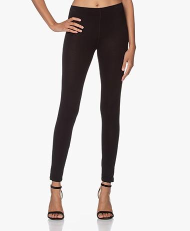 Majestic Filatures Angie Soft Touch Jersey Legging - Zwart