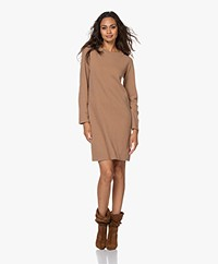 no man's land Merino Wool and Cashmere Dress - Marple Syrup