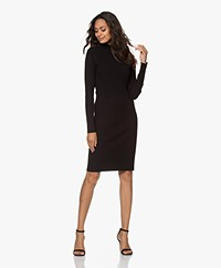 Filippa K Selena Rib Knitted Dress - Black
