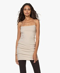 extreme cashmere N°149 Kate Mulitfunctional Dress - Latte