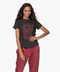MKT Studio Tafest Print T-shirt - Zwart